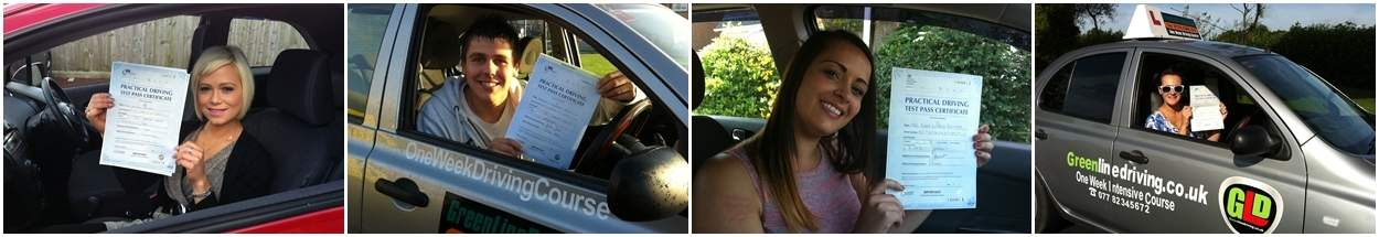 Greenline Driving pupils - passed test first time